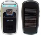 """Bluetooth-гарнитура """"свободные руки"""" для автомобиля с зарядкой от солнечной батареи и FM-передатчиком"""